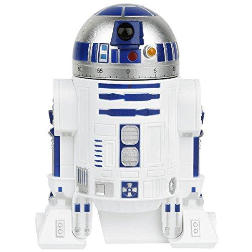 Star Wars R2-D2-Küchenwecker, Weiß, Kunststoff