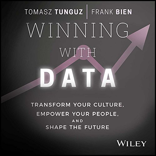 Winning with Data audiobook cover art