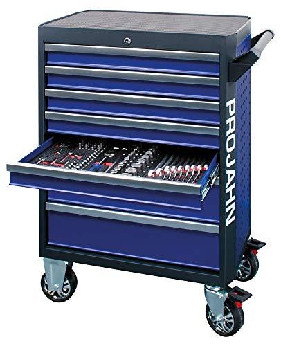 Werkstattwagen GALAXY mit 7 Schubfaechern Blau/Anthrazit