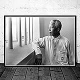 VGSD® Poster Poster Drucke Nelson Mandela Great Leader