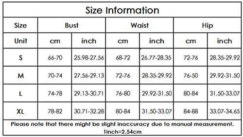 Women Sexy Swimsuits 3 Piece Tie Back Halter Triangle Bikini Sets with Mesh Skirt Cover Up Summer Bathing Suit (Colorful, Medium)