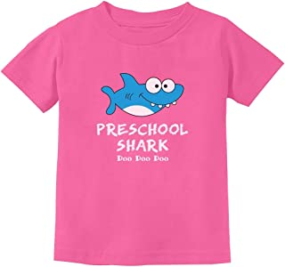 Preschool Shark Doo Doo Back to School Funny Toddler Kids T-Shirt