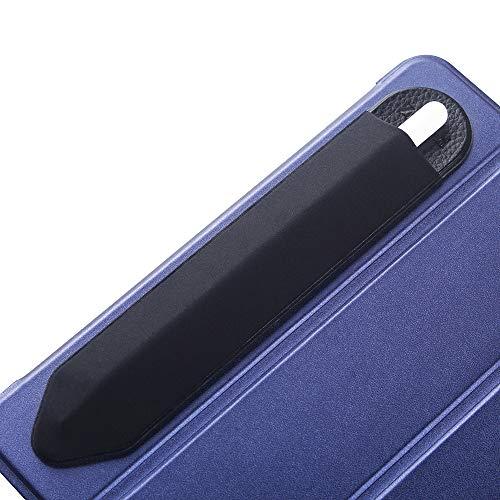 Zspeed Funda para Lapiz táctil con Bolsillo de Adaptador USB Funda para Apple Pencil Bolsa de Lápiz Compatible con Apple Pencil Protector Bolsillo Manga Adhesiva Reutilizable
