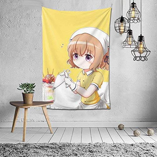 Blend·S Tapestry Wall Hanging Decoration Wall Hanging in Bedroom Dormitory Stylish Color
