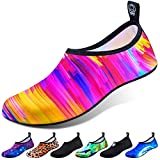 DigiHero Water Shoes for Women and Men, Quick-Dry Aqua Socks Swim Beach Womens Mens Shoes for Outdoor Surfing Yoga Exercise (Waterproof Pouch Included)