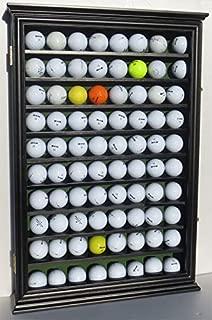 80 Novelty/Fan Shop Golf Ball Display Case Holder Wall Cabinet