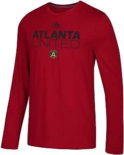 adidas Atlanta United FC Men's Locker Room Long Sleeve T-Shirt Red