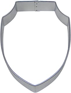 Shield Plaque Cookie Cutter 4 in