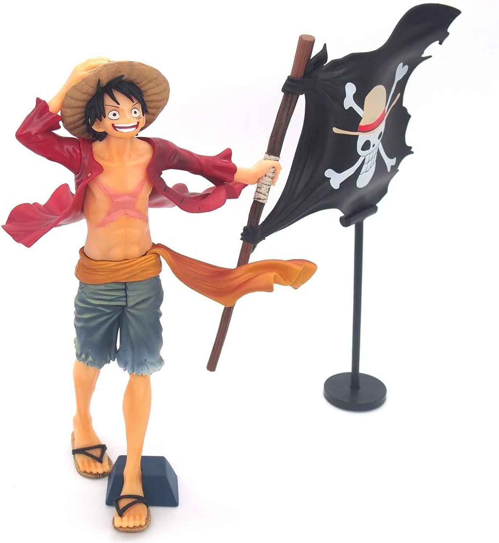 EIN Stück Lu Fei Flagge Anime Statue Modell Dekoration Geschenk 22 cm Anime Dekoration