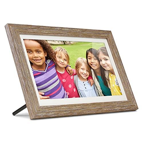 digital memory frames Aluratek 13.3