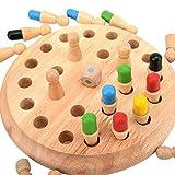 Kentop Jeux de mémoire en Bois, Jeux de Société pour Enfants, Jeu de Réflexion et Logique, Jouets éducatifs pour Enfants de l'éducation préscolaire