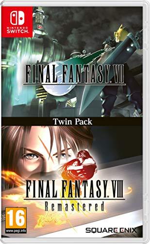 Final Fantasy VII and Final Fantasy VIII Remastered - Twin Pack - Nintendo Switch [Edizione: Regno Unito]