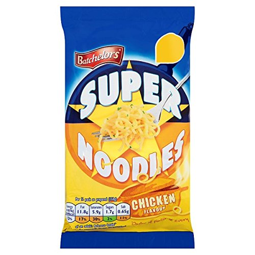 ( 8 Pack ) Batchelors Super Noodles Chicken Flavour 100g
