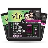 Best Hair Color Shampoos - VIP Hair Colour Shampoo, 40ml Review