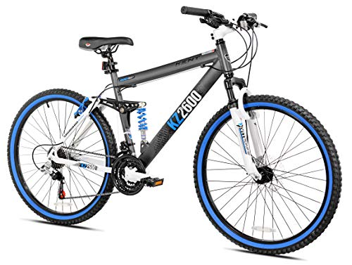 Kent Mens Thurster Mountain Bike 26u0022 - Black/Blue