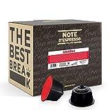 Note d'Espresso - Amabile - Cápsulas de Café - Compatibles con Cafeteras NesCafé* y Dolce Gusto* - 48 x 7 g