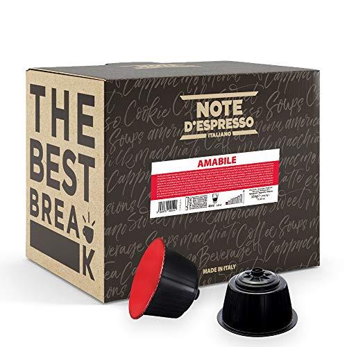 Note D'Espresso - Amabile - Miscela di Caffè Torrefatto - Capsule Compatibili Soltanto con Dolce Gusto* - 336g - Confezione da 48 X 7g