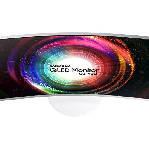 Samsung C27H711QE 81,28 cm (32 Zoll) Curved Monitor (HDMI, 4ms Reaktionszeit, 60 Hz, WQHD) weiß