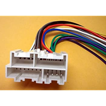 Amazon.com: Stereo Wire Harness Chevy Suburban 95 96 97 98 (car Radio Wiring  Installation.: AutomotiveAmazon.com