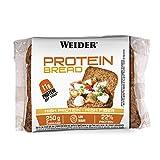 Weider Protein Bread Pan Proteico, 1 paquete de 5 rebanadas, 250 gr