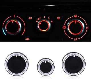 Car Aria condizionata Aria Outlet Strip ventilazione interna Hole manopola Aria condizionata interruttore di controllo termica manopola Style 1