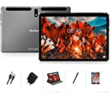 Tablet 10 Zoll Android 10 Pro OS, MEBERRY Octa Core 1,6 GHz Ultraschneller Tablet-PC: 4 GB RAM 64 GB ROM, 1280 x 800 HD IPS, 8000 mAh, WLAN, Bluetooth, GPS, Doppelkamera (5 MP + 8 MP) - Grau