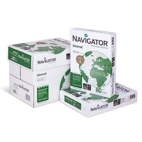 Navigator Mehrzweck-Papier, Schachtel mit 2500Blatt, 5x500Blatt, A4, 80g/m²