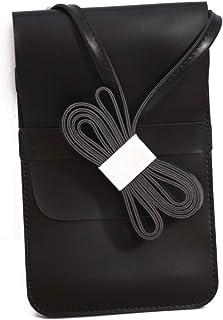 MUMUSO ALL-MATCH VERTICAL CELLPHONE BAG (BLACK)/6972229397503