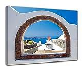 Bilderdepot24 Bild auf Leinwand | Window to Paradise -