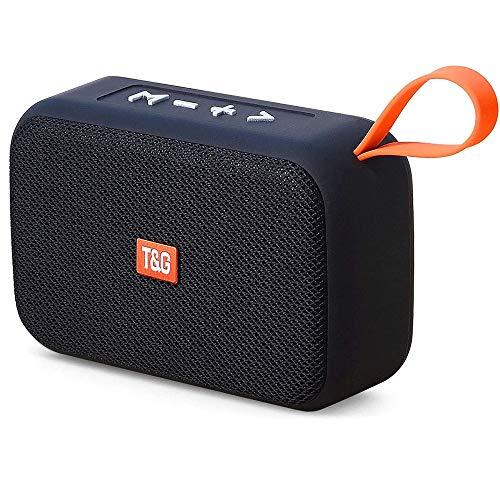 HBBOOI Bluetooth-Lautsprecher 5.0, drahtlose bewegliche 360 ° Stereo Mini Bluetooth-Lautsprecher mit USB, Unterstützung TF/Aux/Micro-SD-Karte/FM, Wireless Stereo Pairing, Wohnhaus, Outdoor, Re