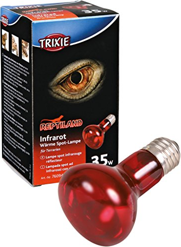 Trixie 76094 Infrarot Wärme-Spotlampe, ø 63 × 100 mm, 35 W