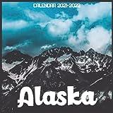Alaska Calendar 2021-2022: April 2021 Through December 2022 Square Photo Book Monthly Planner Alaska small calendar