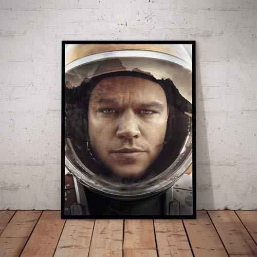 Quadro Decorativo Filme Perdido Em Marte Poster Com Moldura