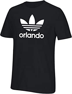 Men's Orlando Trefoil Tee (X-Large, Black Orlando)
