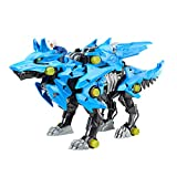 ZOIDS Hasbro Giga Battlers Alpha Shadow - Wolf-Type Buildable Beast Figure with Motorized Motion - Toys for Kids Ages 8 and Up, 58 Pieces (E5546)
