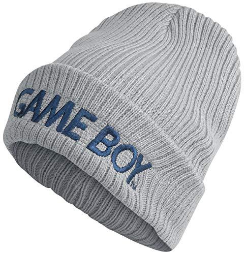 Bioworld Nintendo Gameboy Logo Mütze grau