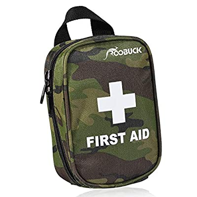 First Aid Kit - for Car,Travel, Sports, Camping, Home,Hiking or Office | Complete Emergency Bag Fully stocked with Medical Supplies (Camouflage Green) by china