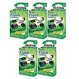 富士フイルム QuickSnap Flash 400 使い捨て35mmカメラ。 5 Boxes (27 Prints) 895256316