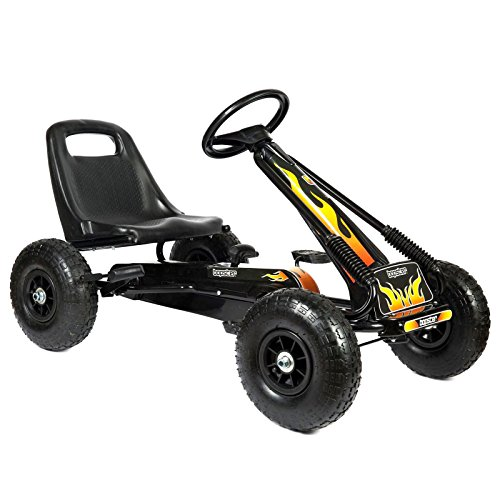 Bopster Go-Kart A Pedali con Ruote Gonfiabili per Bambini - Fiama