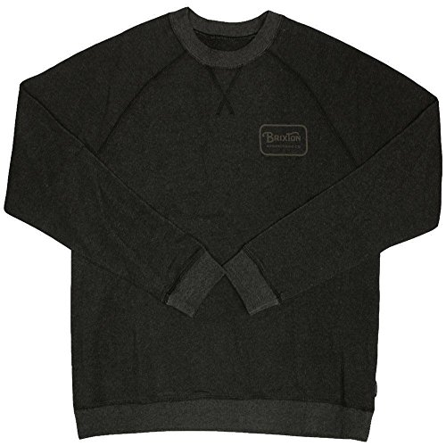 Brixton Grade Sweatshirt Heather Black