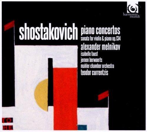 Shostakovich: Piano Concertos Nos.1 & 2 by Alexander Melnikov (2012-02-14)