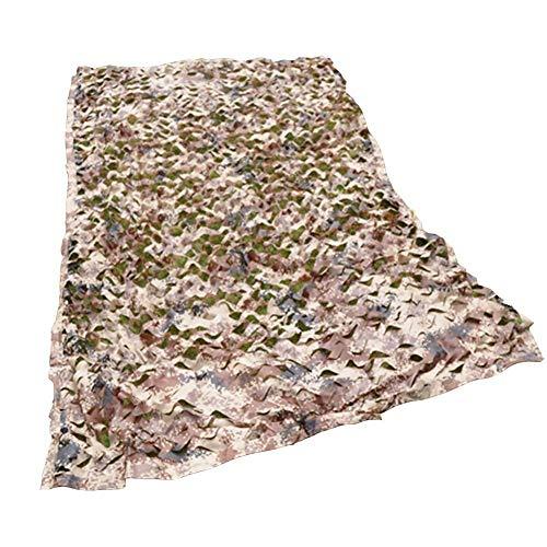 JYZYL Sonnenschutznetz Tarnnetz, Sonnenschutznetze Leichtes Tarnnetz Ideal für die Jagd Blinder Sonnenschutz Camping Schießen Verdeckung Baldachin Party Dekoration (Farbe: A, Größe: 3 × 3 m)