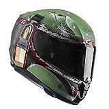 HJC Motorradhelm RPHA 11 Boba Fett, Grün, Größe M