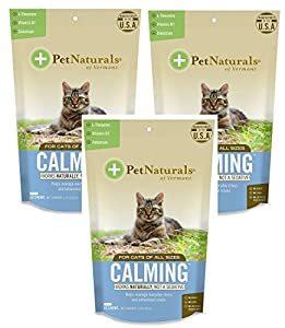 (3 Pack) Calming Supplements for Cats