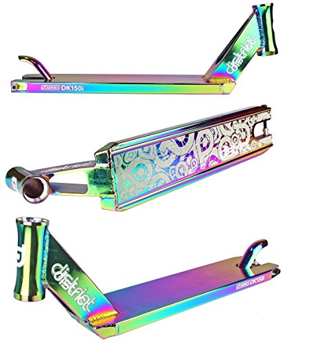District S-Series DK150i Pro Stunt Scooter Deck (Color Chrome)