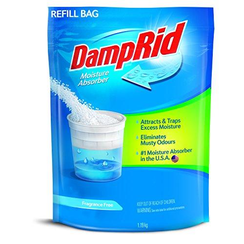 DAMP RID Moisture Absorber/Damp Trap Crystals Refill Bag - Fragrance Free (1.19kg)