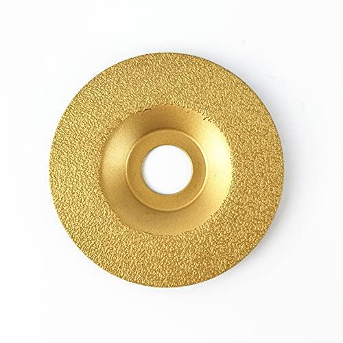 NBB Disco de diamante soldado, alta eficiencia y larga vida, amolado en granito, mármol, cerámica, baldosas, porcelana, piedra natural,en seco, eje 22.23 mm, conectado a amoladora angular(Medio, 1)