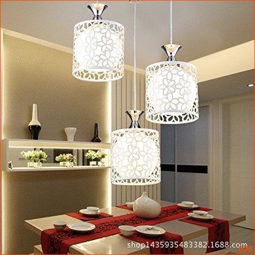 CHJK BRIHT Il pranzo e la cena crystal illumina Ciondolo Pendente pendenti luci led ufficio la sospensione i fili di ferro di luce scolpiti lounge/sala da pranzo lampade creative