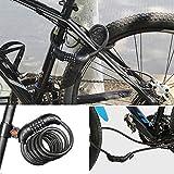 Immagine 2 jzk blocco bici combinazione ripristinabile