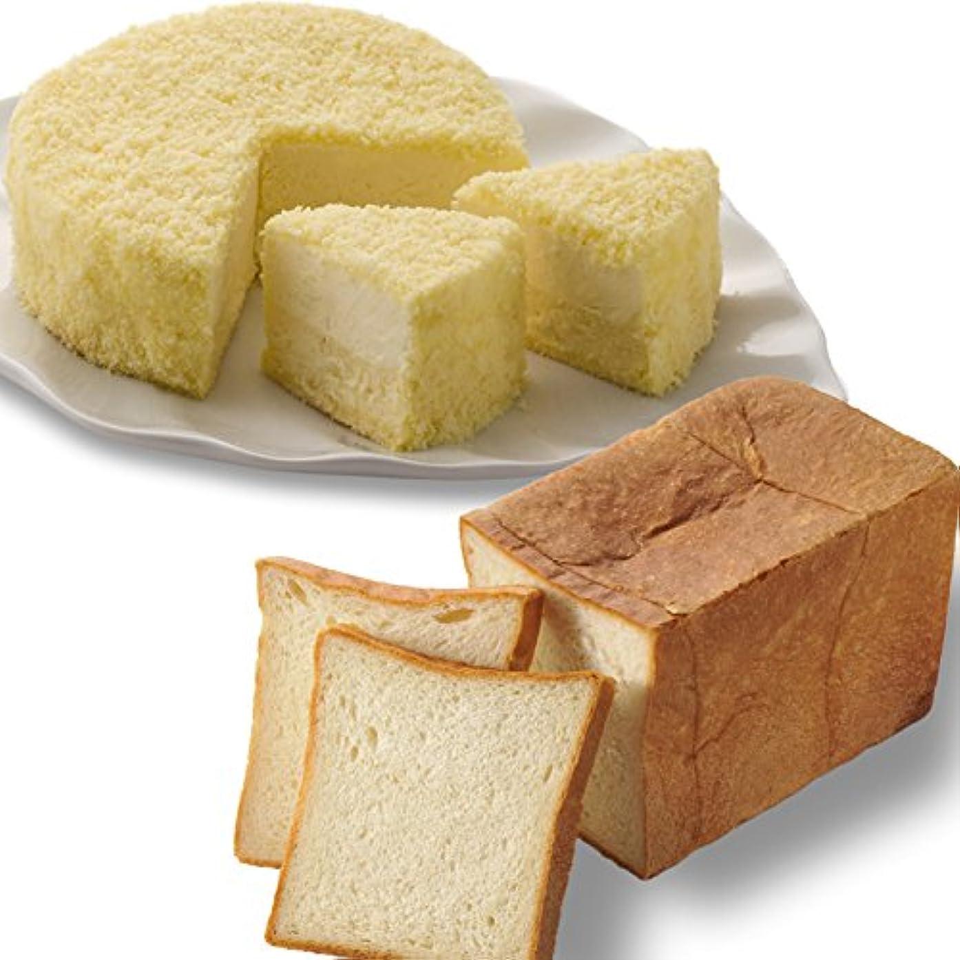 逃げる項目サンダルルタオ (LeTAO) チーズケーキ 食パン 奇跡の口どけセット (ドゥーブルフロマージュ 北海道生クリーム食パン)お中元 夏 ギフト 贈答品 プレゼント 北海道 お菓子 スイーツ パン ブレッド お取り寄せ